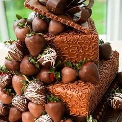 Пазл онлайн: Необыкновенный тортик