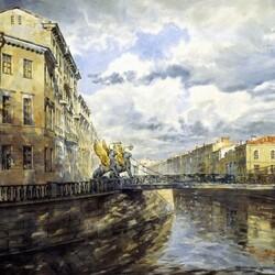 Пазл онлайн: Банковский мост