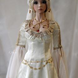 Пазл онлайн: Фарфоровая кукла