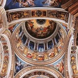 Пазл онлайн: Купол Исаакиевского собора