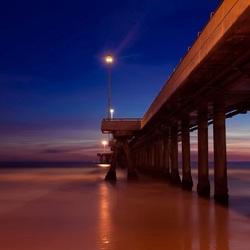 Пазл онлайн: Вечерний мост