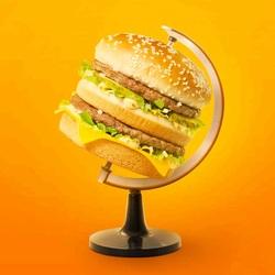 Пазл онлайн: Мир еды