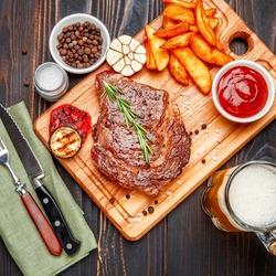 Пазл онлайн: Ужин