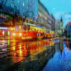 Пазл онлайн: Апрельское утро в Праге