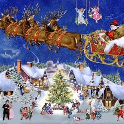 Пазл онлайн: Рождество приближается