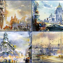 Пазл онлайн: Санкт-Петербург