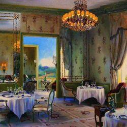 Пазл онлайн: Ресторан