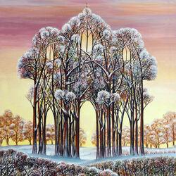 Пазл онлайн: Зимний храм