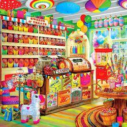 Пазл онлайн: Магазин конфет