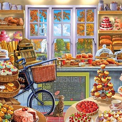 Пазл онлайн: Пекарня