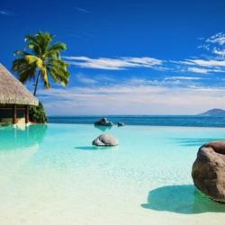 Пазл онлайн: Отдых в тропиках