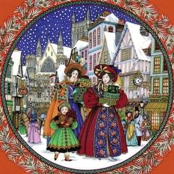 Пазл онлайн: На Рождественском базаре