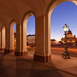 Пазл онлайн: Исаакиевская площадь