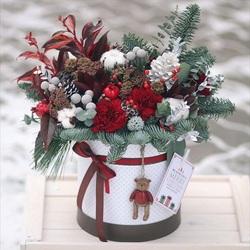 Пазл онлайн: Рождественский букет