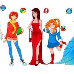 Пазл онлайн: Популярные браузеры
