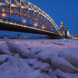 Пазл онлайн: Мост Петра Великого