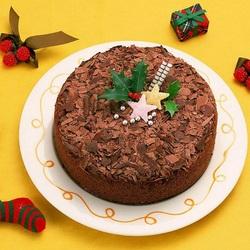Пазл онлайн: Праздничный торт