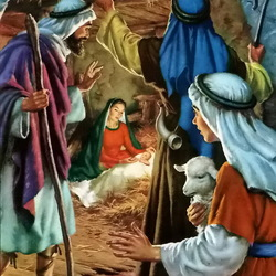 Пазл онлайн: Рождение Иисуса Христа