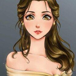 Пазл онлайн: Красавица Бель