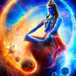 Пазл онлайн: Бог Шива