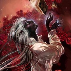 Пазл онлайн: Молодой чародей дроу