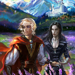 Пазл онлайн: Король Артур и Мерлин