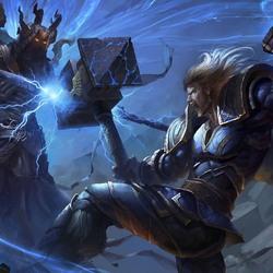 Пазл онлайн: Тор и Аид