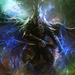 Пазл онлайн: Темный воин