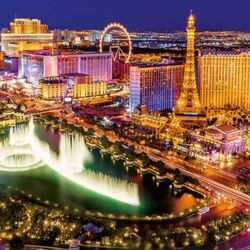 Пазл онлайн: Лас-Вегас