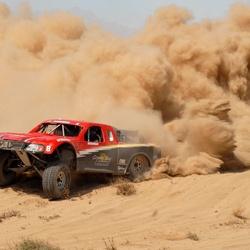 Пазл онлайн: Пыль из под колес