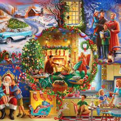 Пазл онлайн: Рождественские традиции
