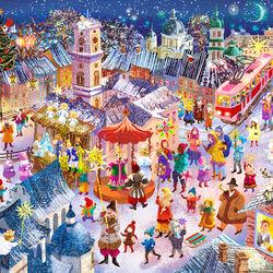 Пазл онлайн: Рождество в Днепре