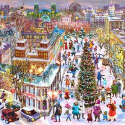 Пазл онлайн: Харьков. Новый год