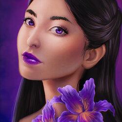 Пазл онлайн: Виолетта