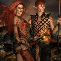 Пазл онлайн: Эльфы из Тереллии