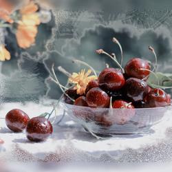 Пазл онлайн: Мороз и ягоды