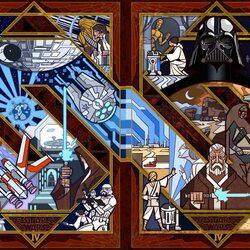 Пазл онлайн: Звёздные войны