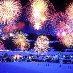 Пазл онлайн: Новогодний салют