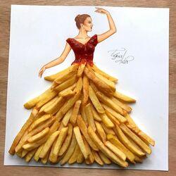 Пазл онлайн: Картофель фри