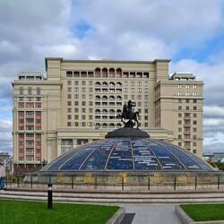 Пазл онлайн: Московский фонтан -