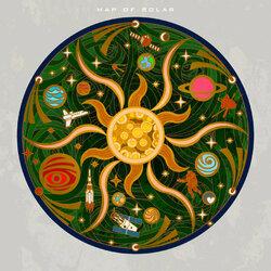 Пазл онлайн: Солнечная карта
