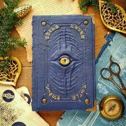 Пазл онлайн: Синий гримуар алхимика