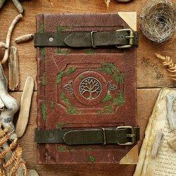 Пазл онлайн: Книга лесного странника (латунь)