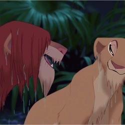 Пазл онлайн: Симба и Нала
