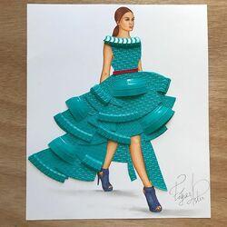 Пазл онлайн:  Пластиковая мода
