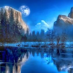 Пазл онлайн: Йосемитский национальный парк