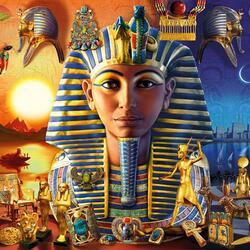 Пазл онлайн: Древний Египет
