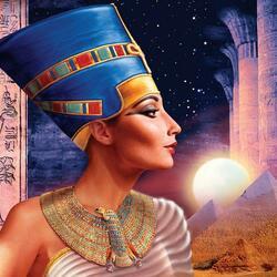 Пазл онлайн: Нефертити