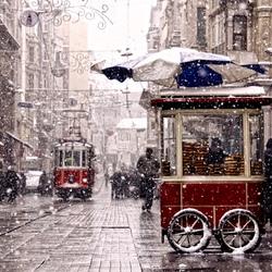 Пазл онлайн: Зимний Стамбул