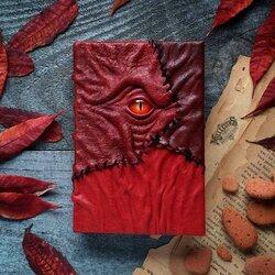 Пазл онлайн: Гримуар в красной коже